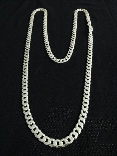 corrente cordão pulseira prata 925 italiana escama flat 60cm