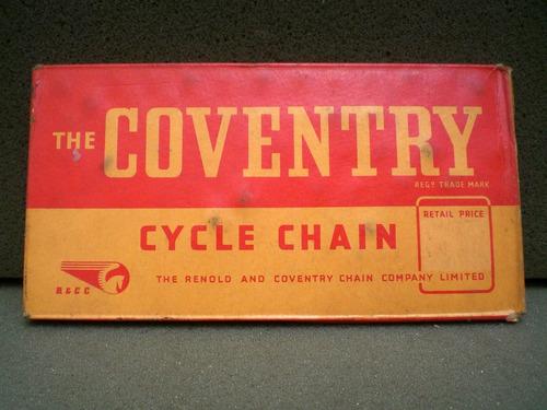 corrente coventry inglesa bicicleta antiga
