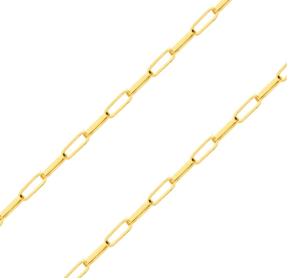 eb593a2551709 corrente de ouro 18k masculina 70cm - malha cartier 3mm. Carregando zoom.