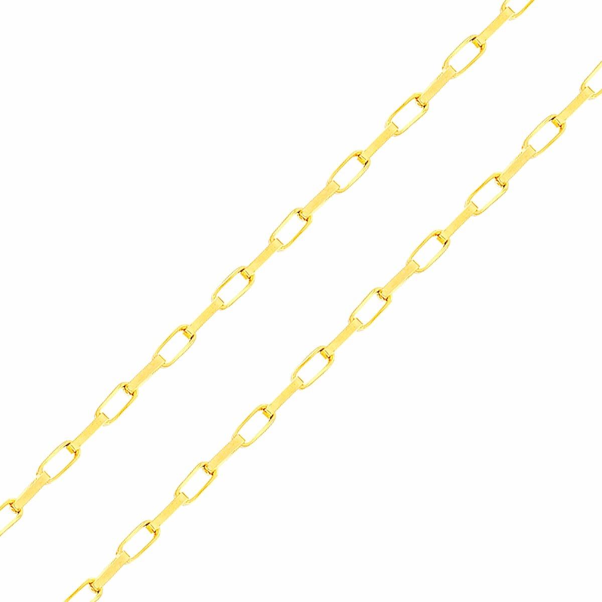 6c8990bc48196 corrente de ouro 18k masculina malha cartier 2mm 60cm. Carregando zoom.