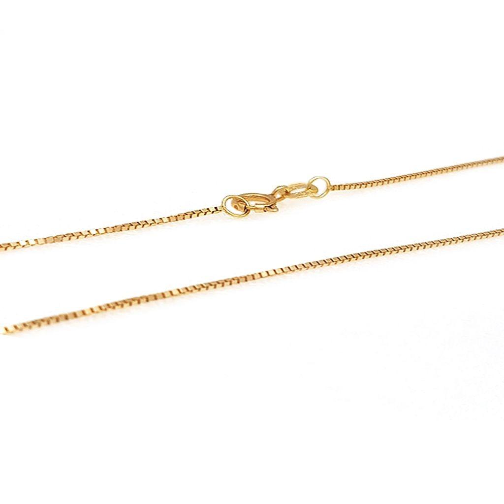 77173ad4a9411 corrente de ouro malha veneziana com 50 cm. Carregando zoom.