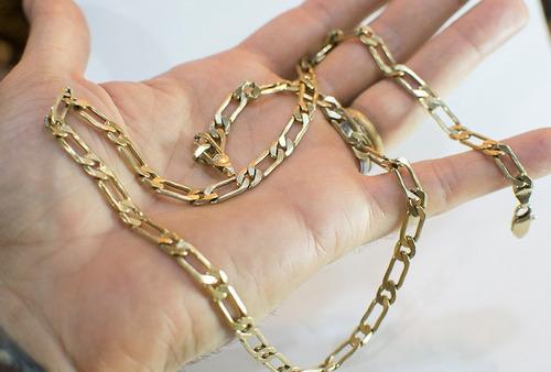 corrente de ouro masculina 18k grossa - corrente ouro 18k