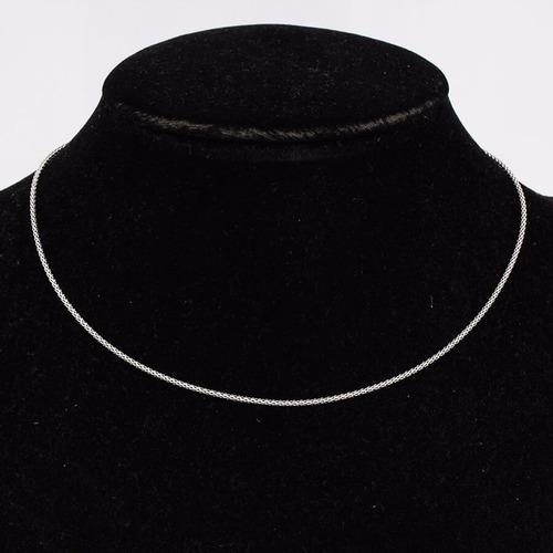 corrente de prata 925 feminina pipoca colar cordão pipoca