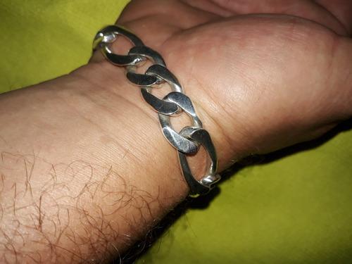 corrente e pulseira de prata 925 grossa