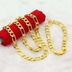 3e11a07f8 Corrente Masculina Grossa Banhada 5 Camadas Ouro 18k Cord O - Colar ...