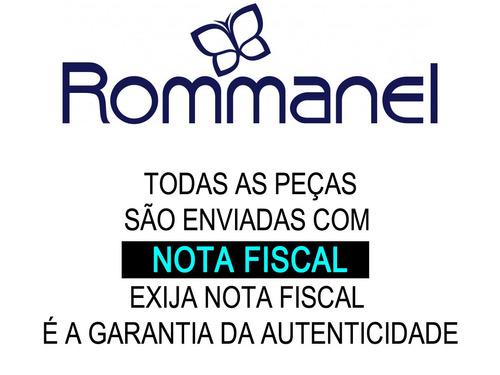 corrente elo mimosa diamantada folh ouro 42c rommanel 530335