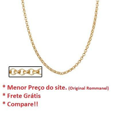 corrente elo português 42cm rommanel 530677 black-friday