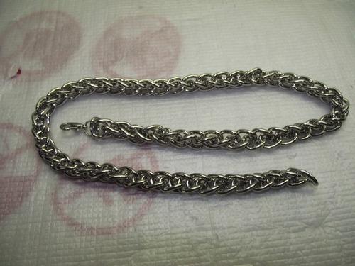 corrente em aço cromado 47 centimetros