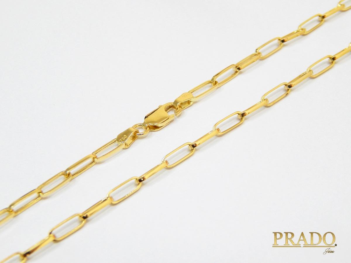 6c605502e73 Corrente Em Ouro 18k Cartier Masculina - R  950