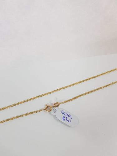 corrente em ouro 416k feminina 2,2 gr - 50