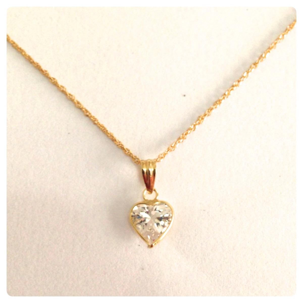 8db7b43bde8f9 corrente feminina e pingente coração de ouro 18k 40 cm. Carregando zoom.