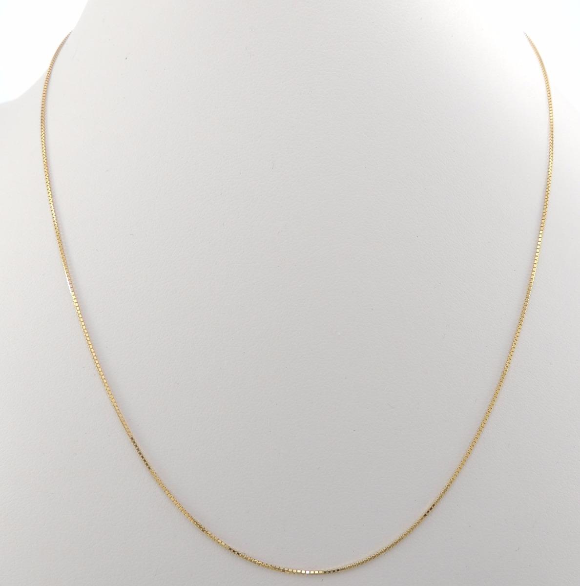 corrente feminina veneziana 1 gargantilha 40 cm ouro 18k. Carregando zoom. 5e6cfb53d6