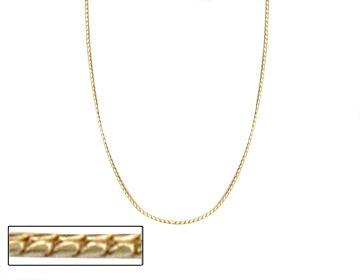 corrente fina diamantada, 50 cm ouro rommanel 531015