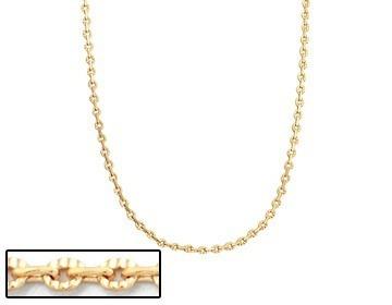 corrente fio cadeado batido  rommanel frizado med 42 530357