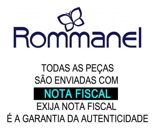 corrente fio elo português 42 folheado ouro rommanel 530609