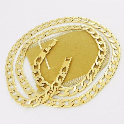 corrente folheada ouro