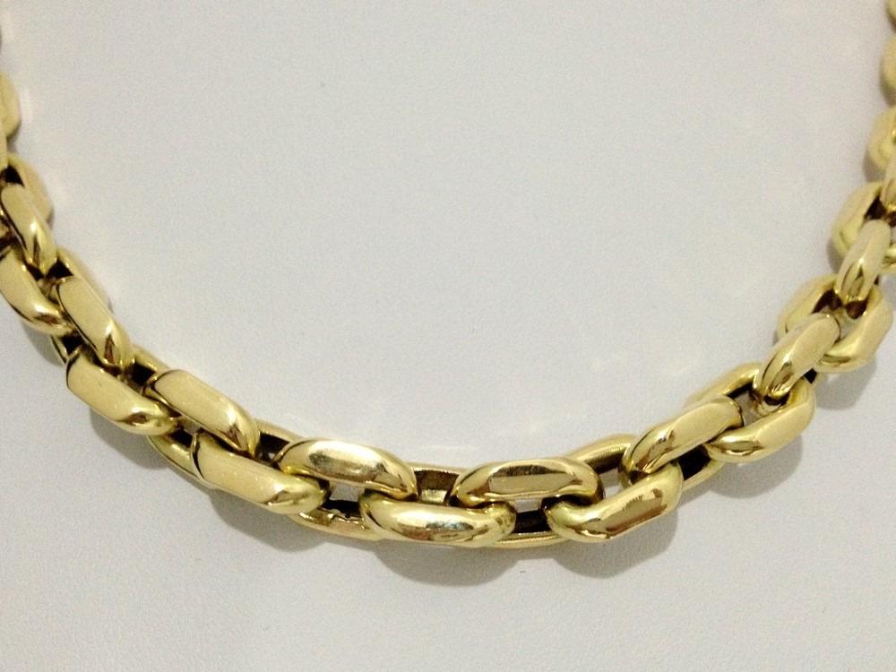 8b1cf86579a corrente grossa em ouro 18k 750 cartier cadeado luxo á vista. Carregando  zoom.