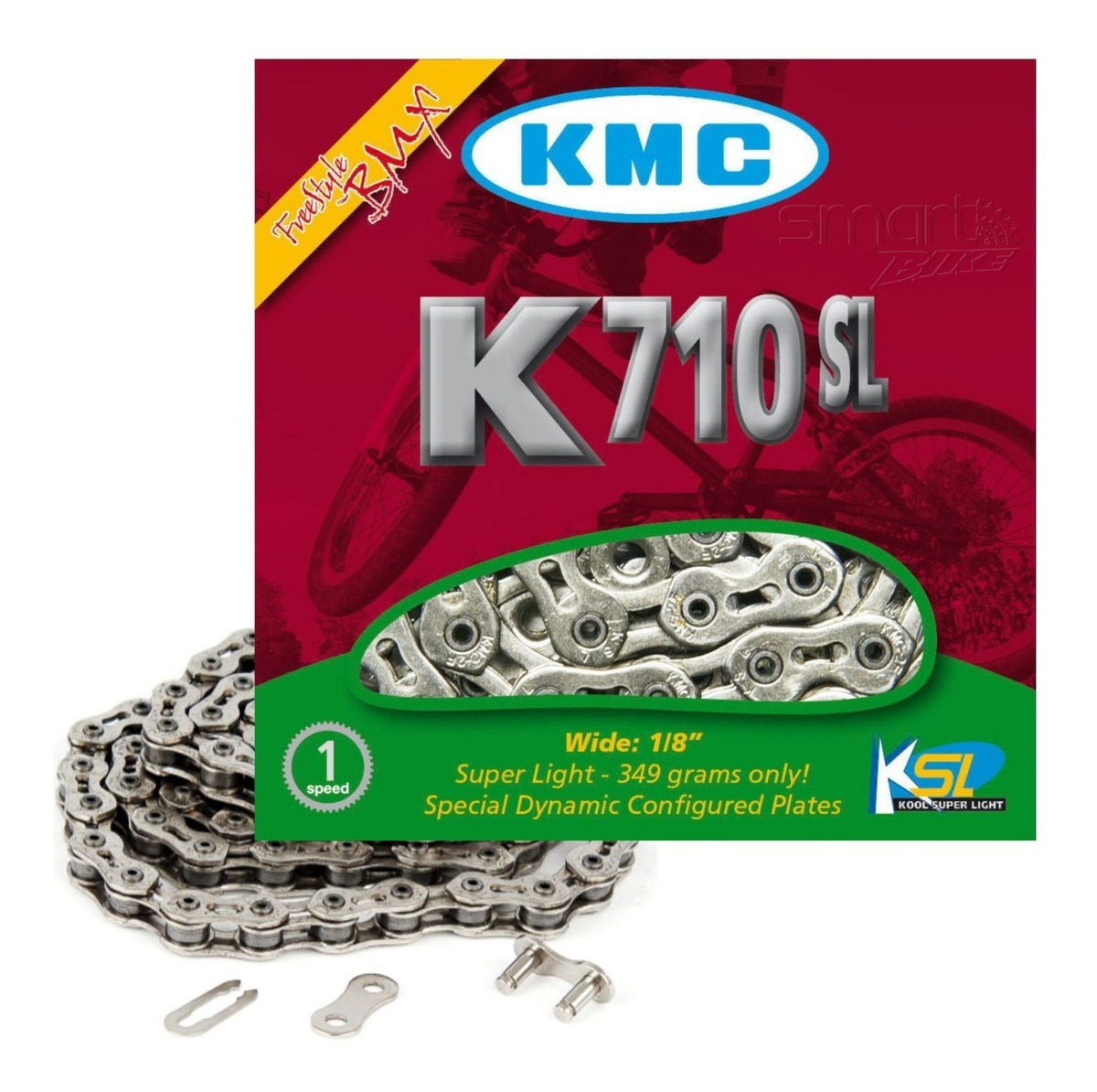 Fixed Gear Chain KMC 710 Kool Chain HD NEW BMX