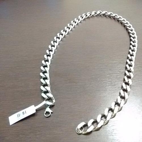 corrente masculina 12 mm em aço maciço 316 l