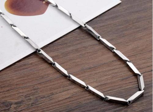 corrente masculina aço inox 55cm moderna 30 gramas - j2339