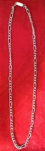 corrente masculina aço inox 57 cm