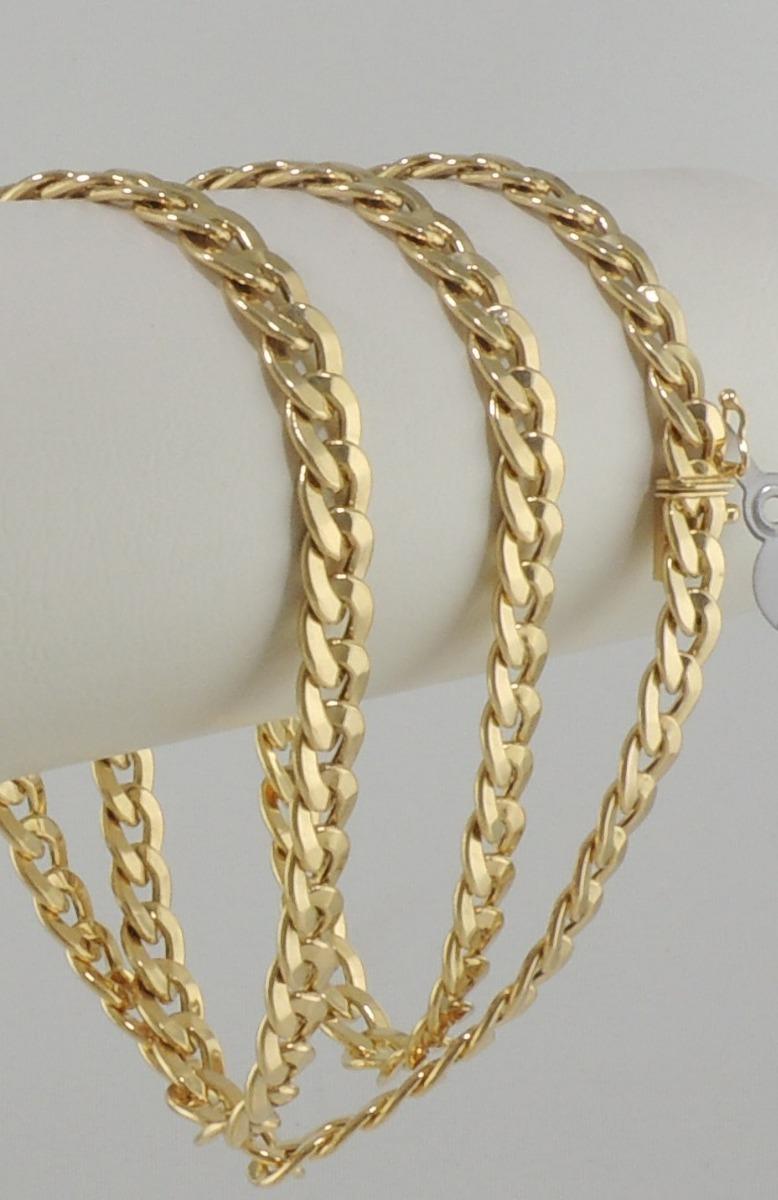 d94a44062713d corrente masculina cordão 7mm grumet 60 cm ouro 18k 750. Carregando zoom.