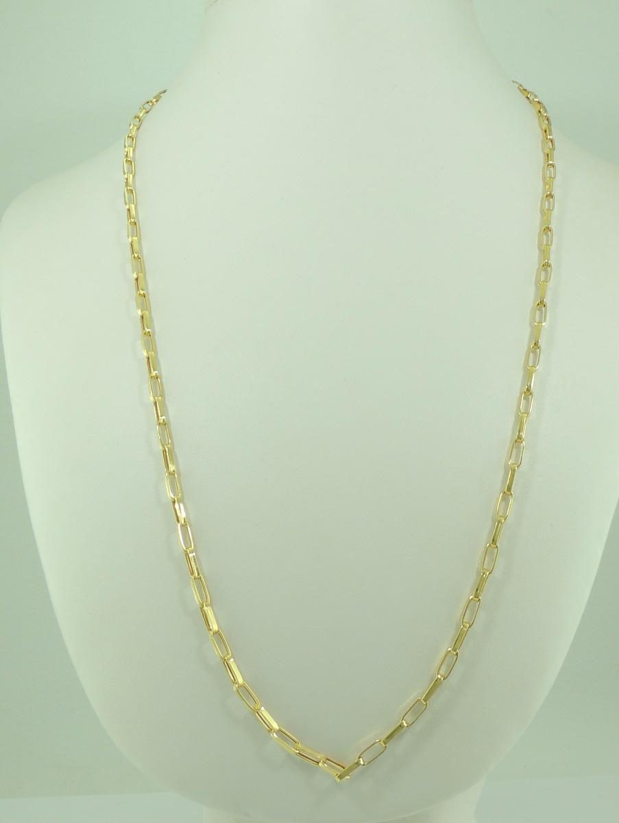 f8f58c1569b corrente masculina cordão cartier 65 cm ouro 18k 750 colar. Carregando zoom.