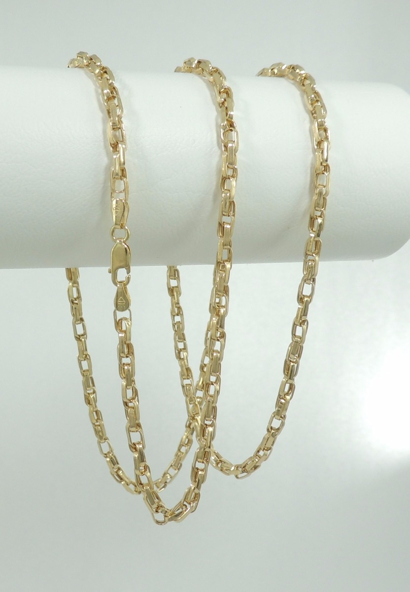82a84589012 corrente masculina cordão cartier duplo 70 cm ouro 18k. Carregando zoom.