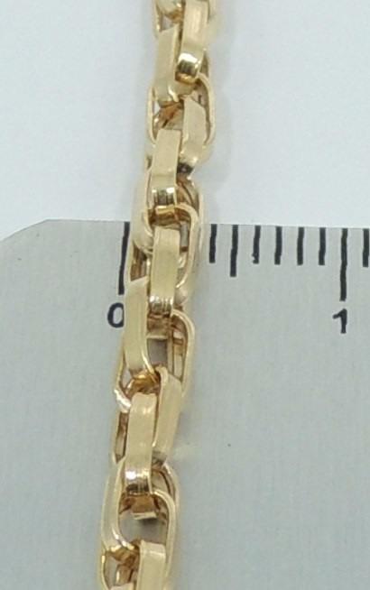 1d86b9b4278 Corrente Masculina Cordão Cartier Duplo 70 Cm Ouro 18k - R  3.375
