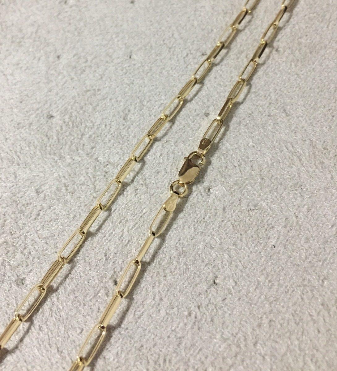 a669612543f Corrente Masculina De Ouro 18k Cart Longa 60 Cm 3mm 4