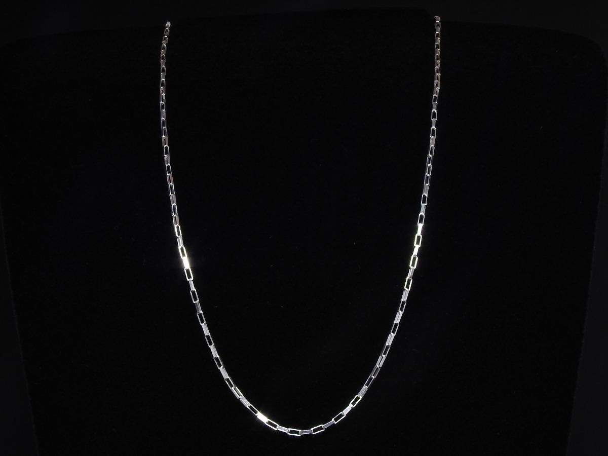 fe021a2f94a corrente masculina italiana cartier em prata 925 maciça 60cm. Carregando  zoom.