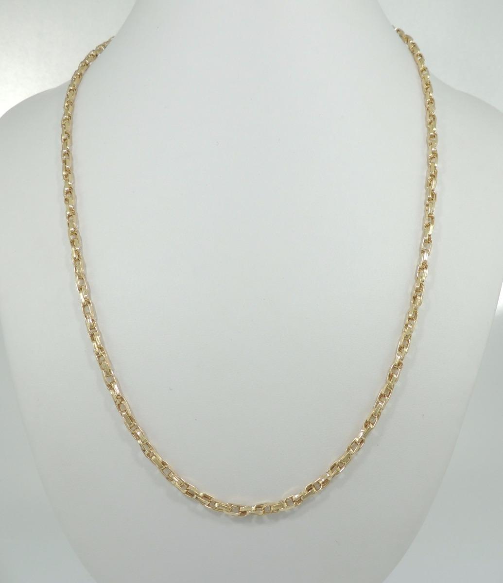 0bb7d7efe19 corrente masculino cartier duplo 70cm cordão ouro 18k 750. Carregando zoom.