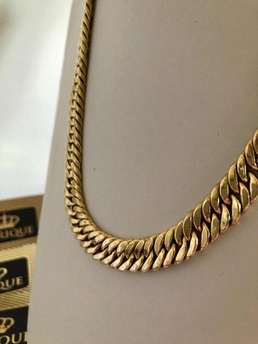 corrente masculino ouro