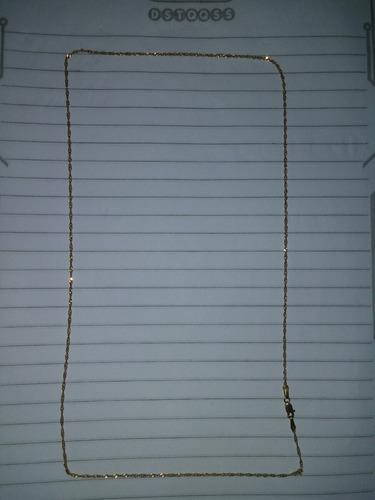 corrente ouro 18k 750  2.2 gramas