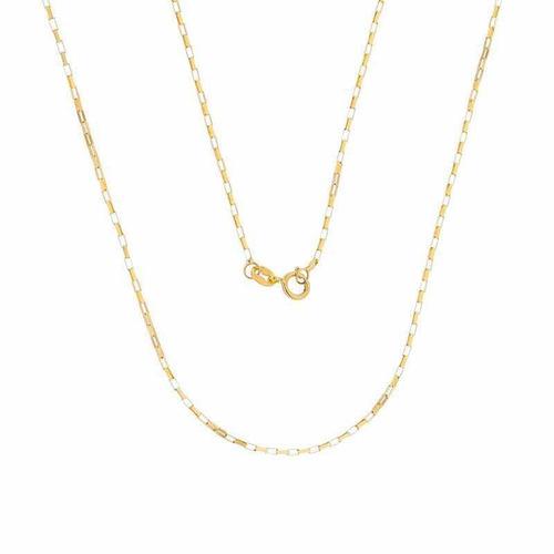 corrente ouro 18k cartier 60cm