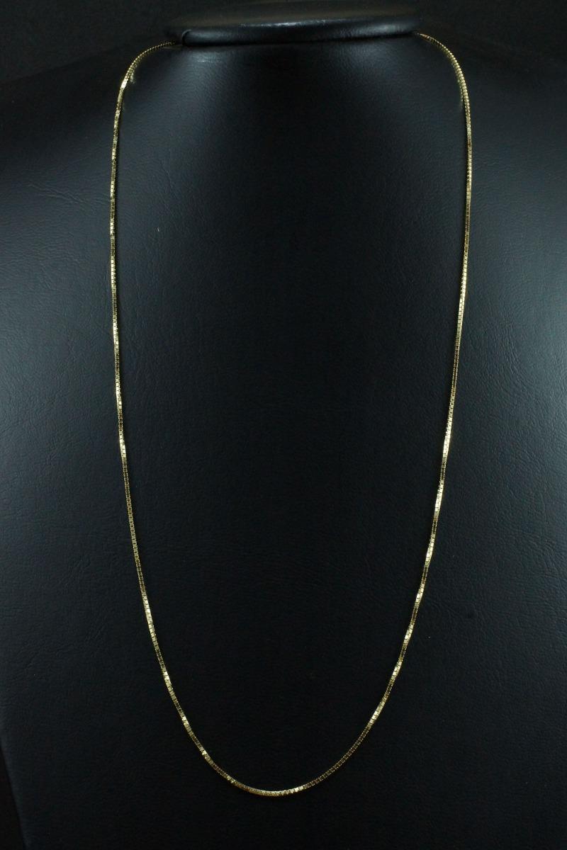 Corrente Ouro 18k Masculina Veneziana 60cm Cv0495 - R  1.115,15 em ... 4de186fb71