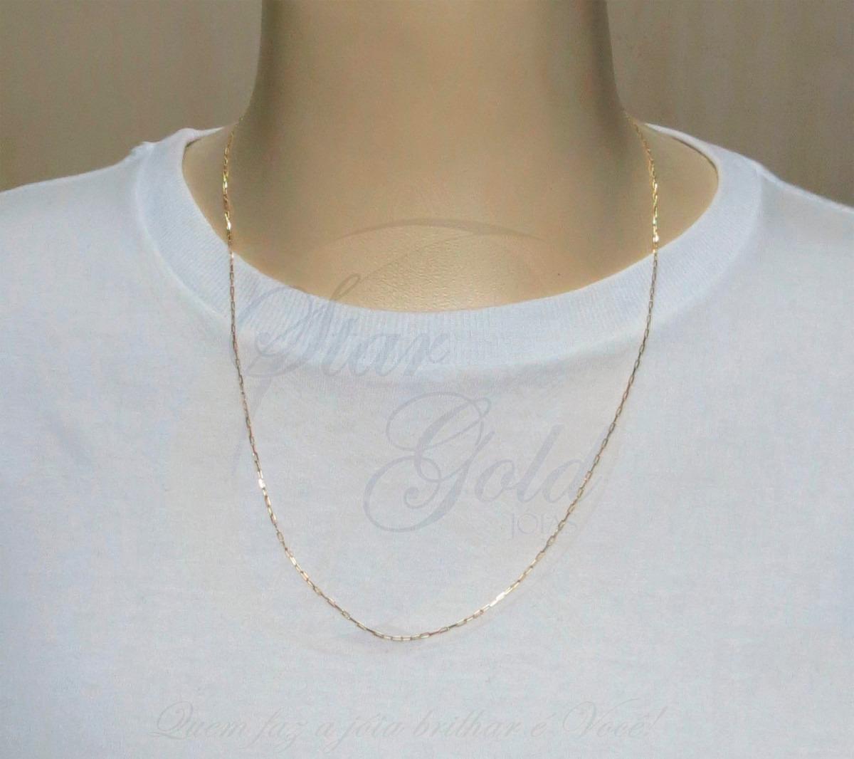 f88529baa41 corrente malha cartier 60cm ouro 18k jóias - · corrente ouro jóias.  Carregando zoom.