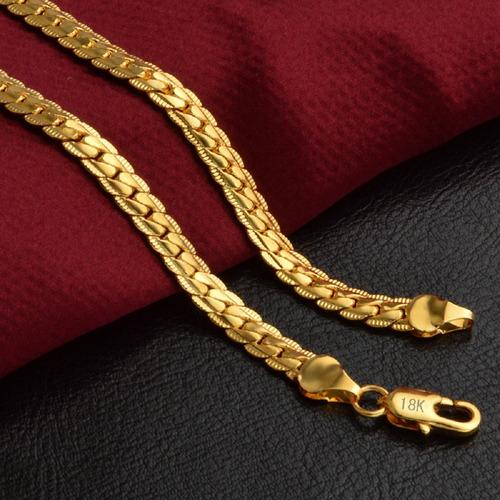 corrente ouro masculino