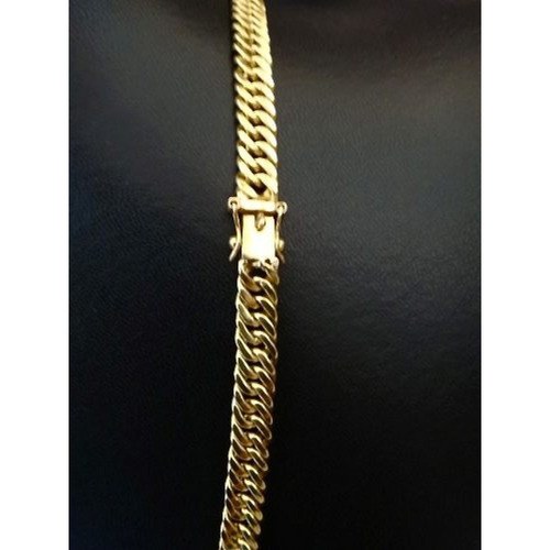 corrente ouro18k maciça grumet/duplo 50gr 60cm feicho gaveta