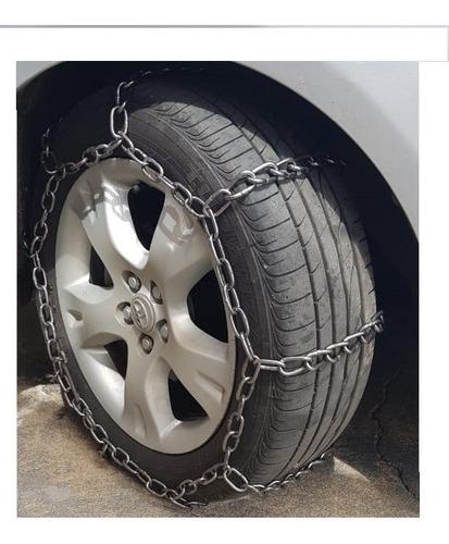 corrente para tração pneu barro lama antiderrapante aro 14