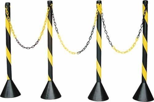 corrente plástica p/ sinalização e calhas elo grande o metro