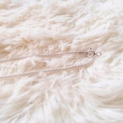 corrente prata colar