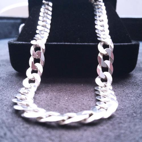 corrente prata cordão grumet  70x6,5mm prata 925 promoção!