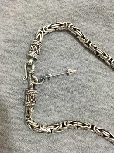 corrente prata de bali