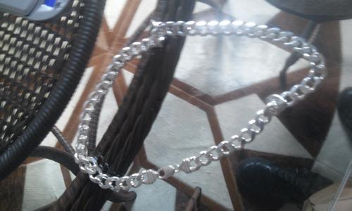 corrente prata e pulseiras 925,maciça, pura