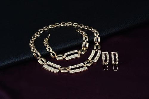 corrente, pulseira, brinco , anel  -  frete grátis