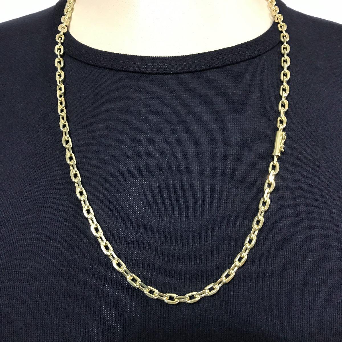 c7230444343 corrente+ pulseira cartie banhado ouro 18k fecho gaveta 70cm. Carregando  zoom.