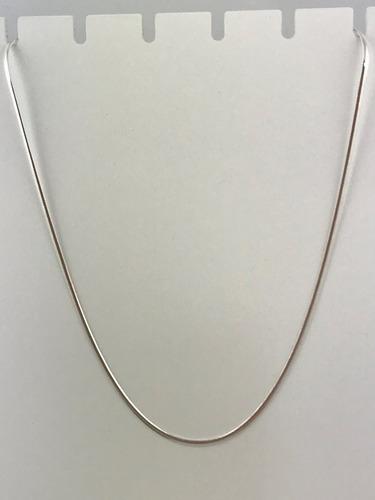 corrente rabo rato chata 3mm prata 925  60cm