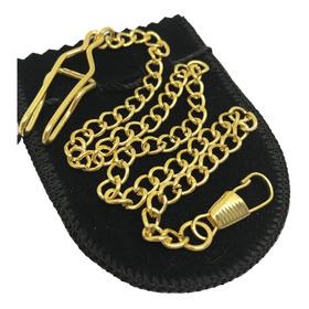 Corrente Relógio Banho Ouro Omega Longines Universal Mido C