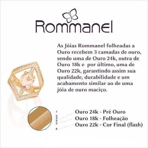 corrente rommanel feminino fio grumet-530293 (42cm)